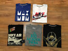 Nike Men's Graphic Logo T-Shirt Crew Athletic Tee M Pick Color NEW image