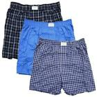 New Tommy Hilfiger Men's 3 Pk Cotton Woven Boxer Multi-color Underwear S M L XL