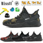 MENS SAFETY BOOTS STEEL TOE CAMO LABOR SHOES INDESTRUCTIBLE BULLETPROOF SNEAKERS