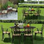 Cast Aluminium Stamford Garden Patio Furniture Set Table And Chairs Coffee Shop