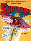 SuperBike Vintage Bicycle Poster Print Art Advertisement Cycling Comic