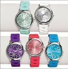 Avon Bright Pastel Linked Silicone Watch