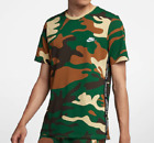 *NEW* Nike Sportswear Men's Camouflage Camo Embroidered T-Shirt AR4036