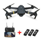 Drone X Pro Foldable Quadcopter WIFI FPV with 2MP HD Camera +2extra Batteries