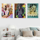 Watercolor Figures Oil Painting Canvas Poster Print Picture Art Wall Decor Gift