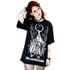 Restyle - Not A Morning Person - Unisex T-Shirt / goth, occult, witchy, bats