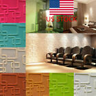 Us 3d Tile Wall Sticker Self-adhesive Panel Diy Home Tv Background Wall Decor Ho