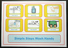 Simple Steps Wash Hands - ADHD/ Autism /PECS /Dementia /Early Yrs /Visual Cards