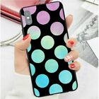 Slim Shockproof Silicone Polka Dot Hard Phone Cover Samsung Iphone Huawei BR