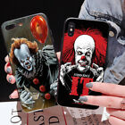 Clown Horror Slim Hard Phone Back  Case For iPhone 7 X Samsung S7 Huawei P20 SW