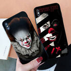 For iPhone X Samsung S9 Huawei Mate 20 P20 Clown Horror Shockproof Phone Case SW