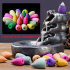 6A3F Desktop Backflow Incense Delicate Cones Shape Buddhist Tower Incense