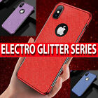 Case for iPhone XR XS MAX XS Ultra Slim Luxury GLITTER Silicone Shockproof Cover