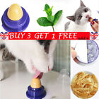 5x Cat Snack Catnip Sugar Candy Licking Solid Healthy Energy Ball Pet Toy GD UK