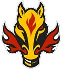"Calgary Flames NHL Vinyl Decal - You Choose Size 2""-28"" $13.99 USD on eBay"