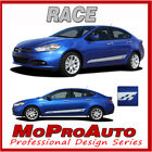 // 2014 Dodge Dart Rocker Panel Side RACE // Vinyl Decals Graphics 3M Vinyl RT5 $99.99 USD on eBay