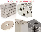 Strong Rare Earth Ndfeb Neodymium Magnets Block Ring Round Cuboid Experiment
