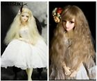 25cm*1m Colorful Doll Wigs DIY Doll Colorful Hair For 1/3 1/4 1/6 BJD SD doll