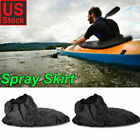 Waterproof Nylon Kayak Spray Skirt Adjustable Deck Sprayskirt Cover Accessories