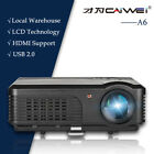 HD LED Android WiFi Home Theater Projector Backyard Wireless Entertainment HDMI