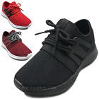 NEW Kids Mesh Sneakers Athletic Lace Up Boys Girls Tennis Shoe Size Youth 10 4