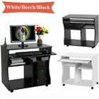 Compact Small Computer Desk Pc Laptop Table Desktop Home Study Gaming W/ Shelves