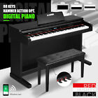 Kyпить 88 Key Electronic Keyboard Digital Piano LCD General/Hammer Action W/ Pedal Seat на еВаy.соm