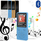 3.5mm Jack Bluetooth MP3 MP4 Portable Player Colour Screen FM Radio Video Movie