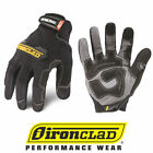 Внешний вид - IronClad GUG General Utility Black Work Gloves - Select Size