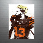 Odell Beckham Cleveland Browns Poster FREE US SHIPPING on eBay