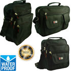 Waterproof Business Crossbody Briefcase Messenger Black Shoulder Satchel Bags