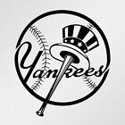 New York Yankees Logo Car Laptop Motorbike Vinyl Decal Sticker on Ebay