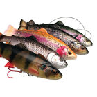 Savage Gear 4D Line Thru Pulse Tail Trout Lures - Pike Zander Salmon Fishing
