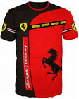 Ferrari Challenge Sports Drift Italy Official 3D T-Shirt Tee Hemd Camiseta Top  image