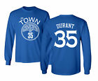 """Golden State Warriors """"The Town"""" Kevin Durant #35 Shirt Mens Long Sleeve T-Shirt on eBay"""