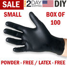 Black Nitrile Gloves Disposable Mechanic Food Exam Gloves Powder & Latex Free