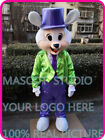 Bunny Mascot Costume Cosplay Party Fancy Dress Outfit Advertising Adult Parade