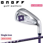 for LADIES DAIWA GOLF JPN ONOFF IRON LADY (#5. 6 or Aw) SMOOTH KICK LP-419I 19ss