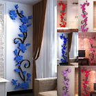 Charm Home Living Room Decor 3d Flower Removable Diy Wall Sticker Decal Mural Us