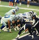 Dallas Cowboys VS Redskins  12/29,  1 Ticket FRONT ROW, ROW 1 Goal Line Sec 128
