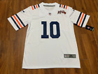Mens Chicago Bears Mitchell Trubisky White Jersey 100th Stitched FREE SHIPPING