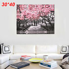 Black&White Pink Blossoms Canvas Wall Art Prints Unframed Wall Art Print Picture