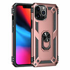 For Apple iPhone 12 11 Pro Xs Max Xr Shockproof Armor Ring Stand Hard Case Cover
