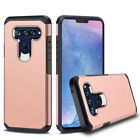 For LG V40 ThinQ Case Shockproof Bumper Armor Hybrid TPU Cover+Screen Protector
