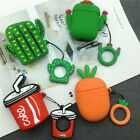 3D Cute Earphone Case Cover Shell for Airpods 1/2 Bluetooth Earbud Charging Case $7.57  on eBay