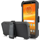 For Motorola Moto G7 Power / Supra  Case Belt Clip Fit Otterbox+Screen Protector
