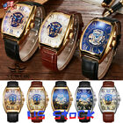 Mens Sewor Fashion Skull Dial Wristwatch Automatic Watch Luxury Mechanical US
