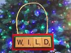 Minnesota Wild NHL Christmas Ornament Scrabble Tiles Key Chain Magnet $8.99 USD on eBay