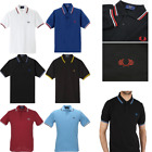 New Men Summer Classic Polo Shirt Sports Horse Golf Top Short Sleeve T-Shirts