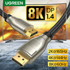 Ugreen DisplayPort 1.4 Cable 8K 4K HDR 165Hz 60Hz Display Port Adapter DP Cable